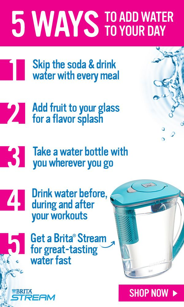 Drinking more water this year doesn't have to be a hassle, especially if you own a Brita® Stream. Just fill the pitcher, pour and done! It's that easy to get great-tasting water. Buy a Brita® Stream today!
