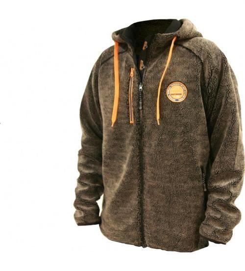 Set hos Dalum dyrhandel - MED apport lomme <3 Arrak Black Bear Hoody trøje.