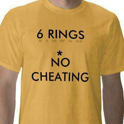 PITTSBURGH STEELERS~ 6 rings t-shirt: