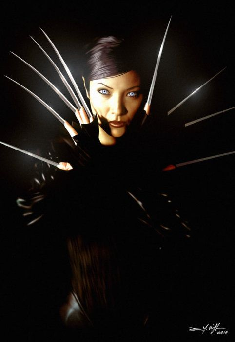 """I used to think you were one of a kind, Wolverine. I was wrong."" - Deathstrike"