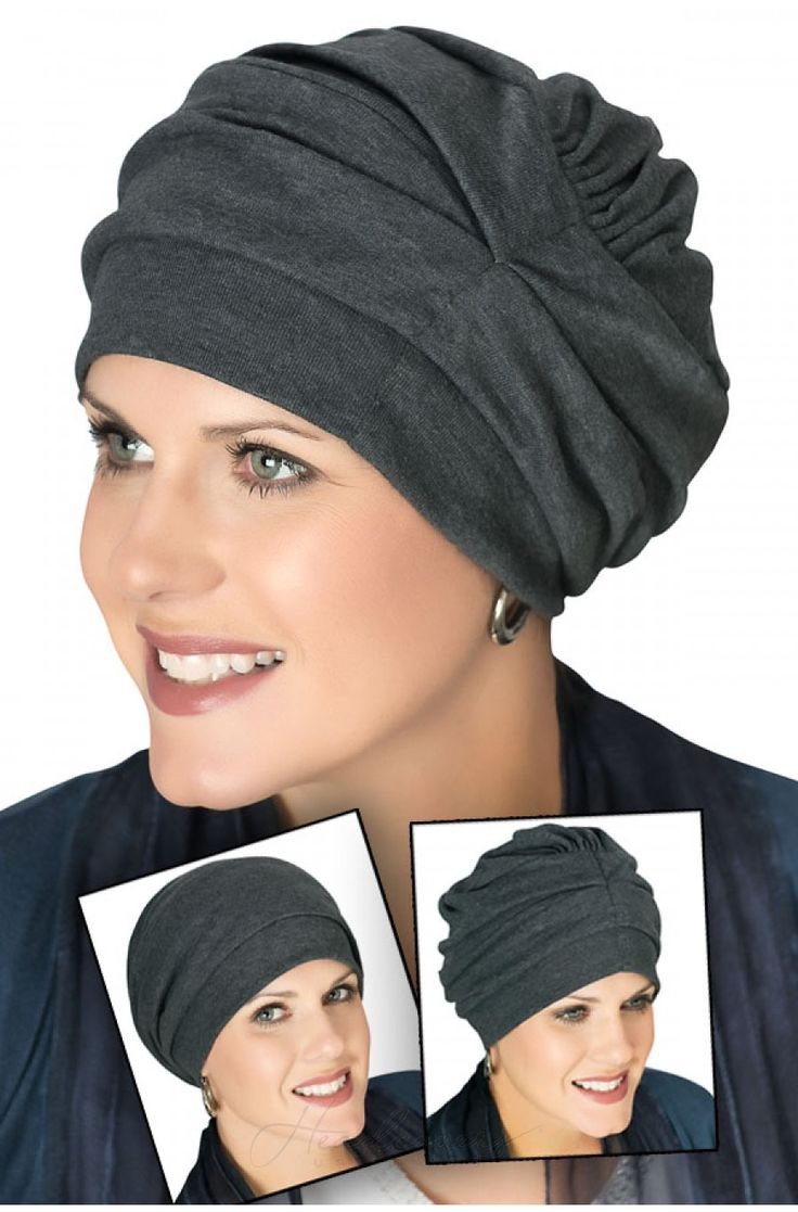 A truly unique head covering that can be worn 3 different ways!