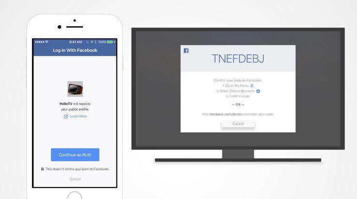 Βελτίωση εισόδου στο Facebook σε Android και TV http://www.socialmedialife.gr/118646/veltiosi-isodou-sto-facebook-se-android-ke-tv/
