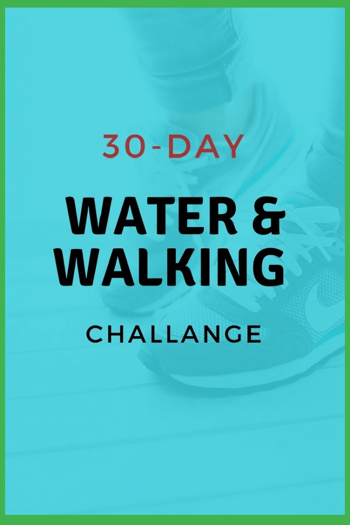 Water And Walking Challenge 30 Days To Better Health Shape Your Body In 2020 Walking Challenge Health Fruit Health Benefits