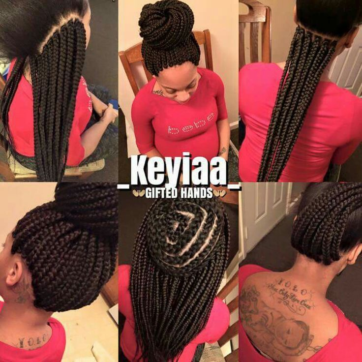 Crochet Box Braids Pre Braided Hair : Crochet box braids Braids, Twists, Locs Pinterest Patterns ...
