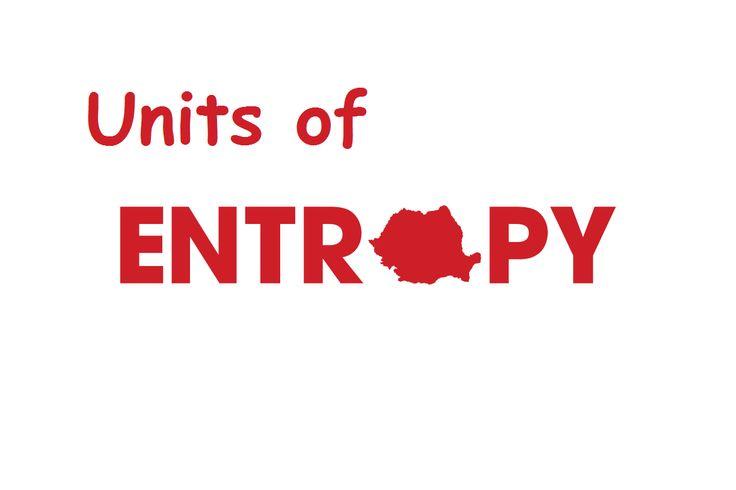 Units of Entropy