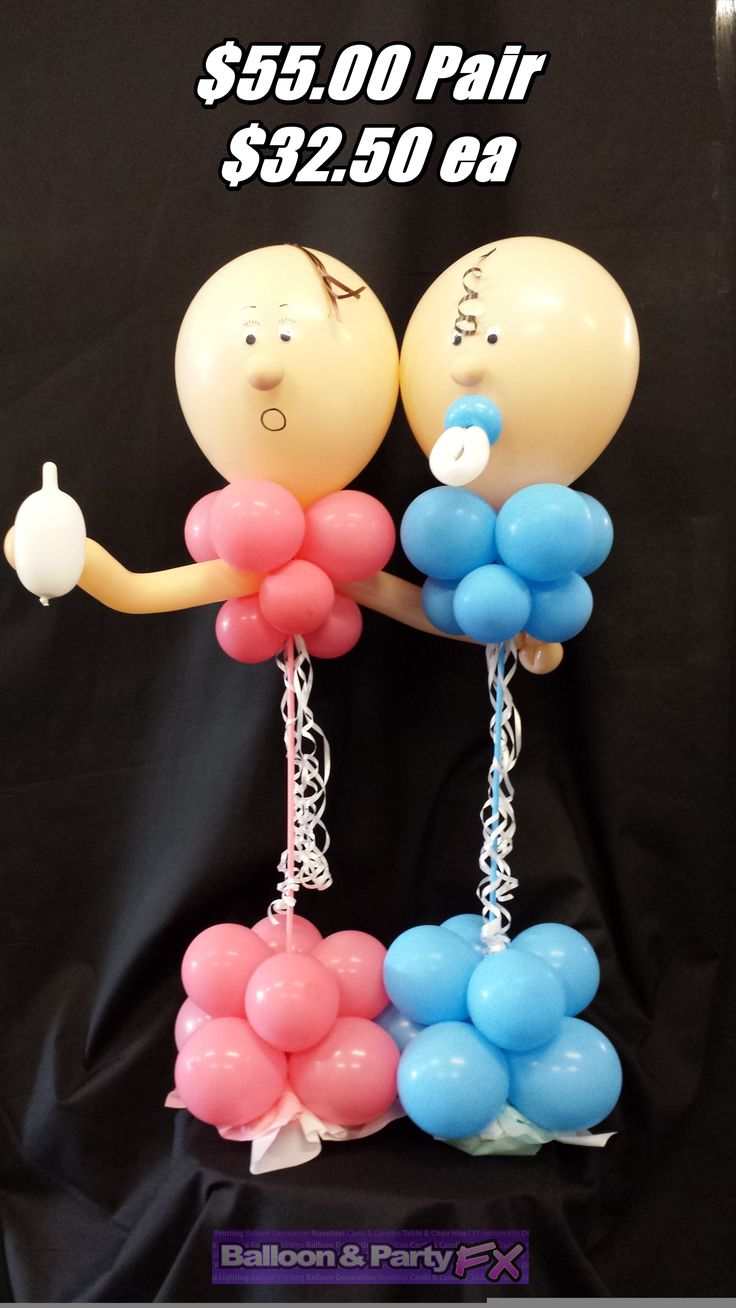 37 best Baby Shower Balloons images on Pinterest | 30 years, Baby ...