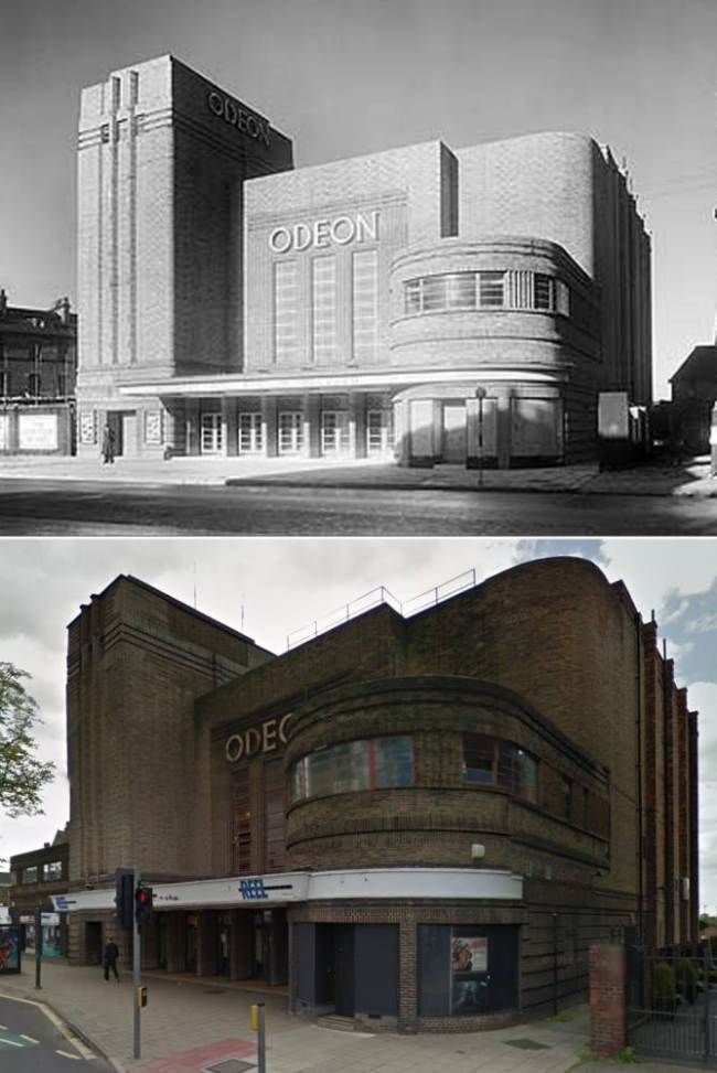 Odeon Cinema, Blossom Street, York (www.englishheritagearchives.org.uk/google)
