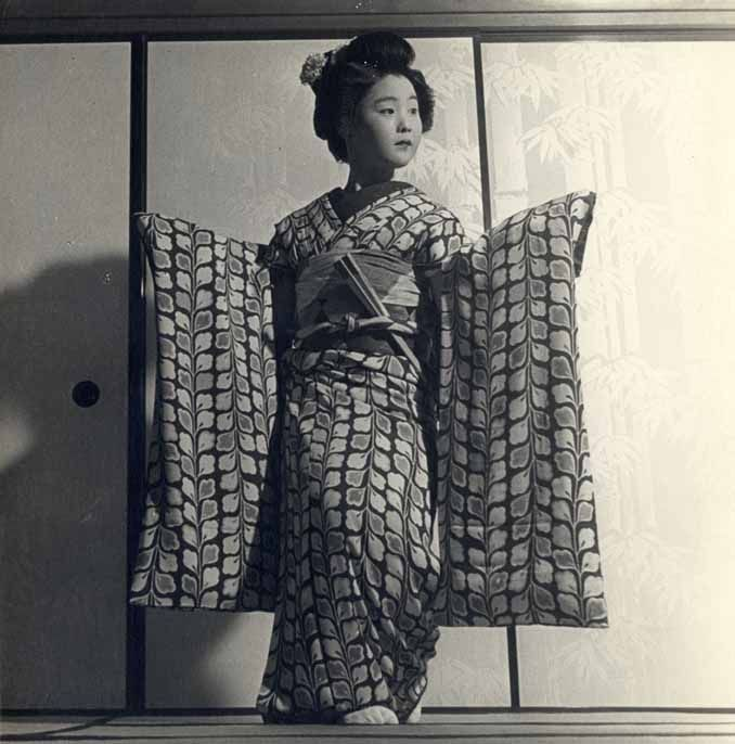 Portrait of a young geisha, ca. 1940 by Francis Haar