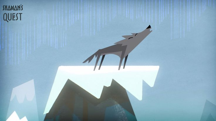 Shaman's Quest #wolf #animation  #character