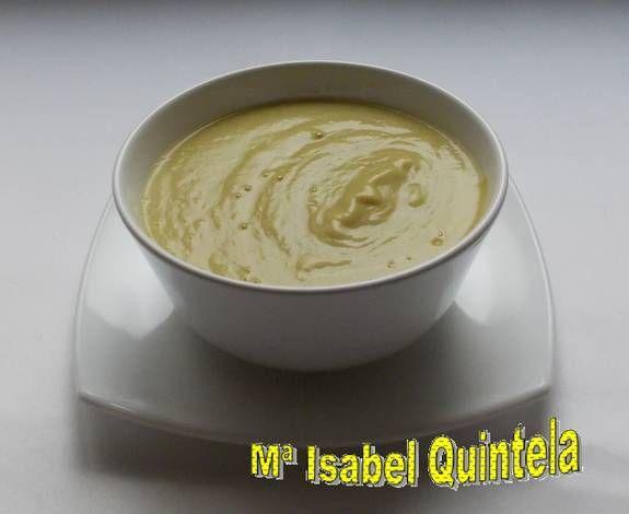 Crema de calabaza amarilla con pollo                                                                                                                                                                                 Más
