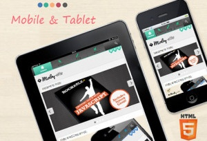 Today we show you 15 awesome responsive WordPress themes for mobile and tablets! This collection are exclusively for iPhone and iPod touch devices. All perfectly fits to 320px wide screen without the need for screen orientation switch.