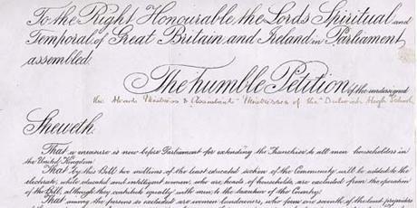 UK Parliament Archive - Suffragettes