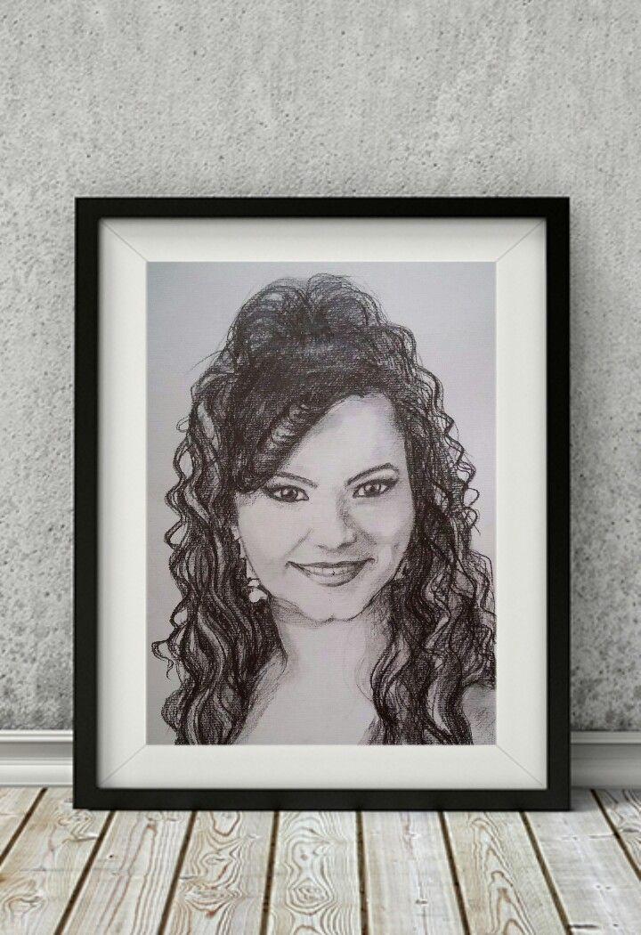 Dankó Szilviáról készült portré