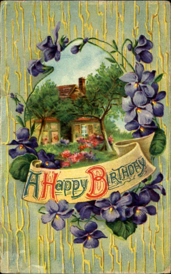 17 Best images about BirthdayBest Wishes Cards Victorian Style – Country Birthday Cards