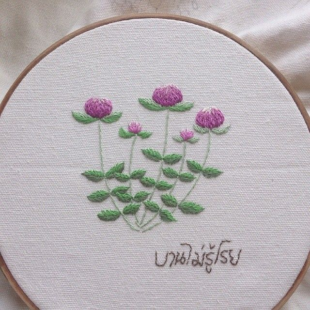 #บานไม่รู้โรย #embroidery #embroideryart #handembroidery #art #handmade #needlework #diy #craft #handicraft #stitching #embroideryfloss #needlecraft #hobby