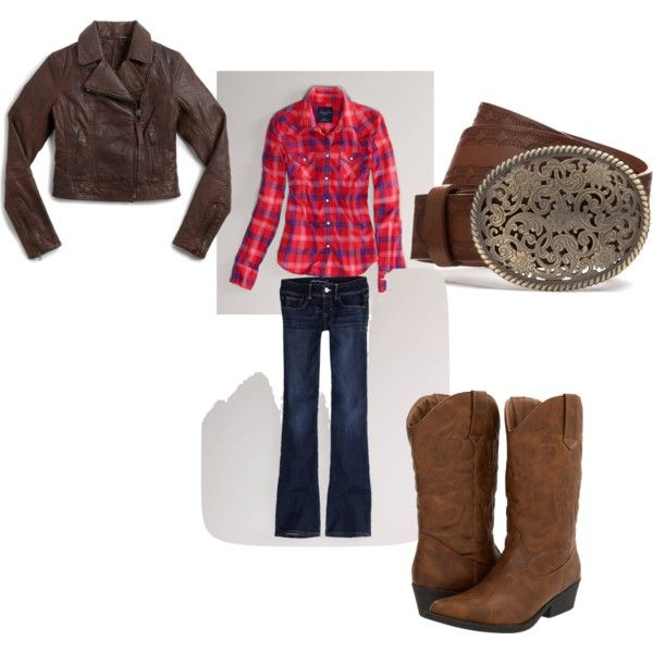 """""""Amber Marshall Fashion 1"""" by usheartlandlove on Polyvore  There are more check them out! I met Amber and I agree she would wear this!"""