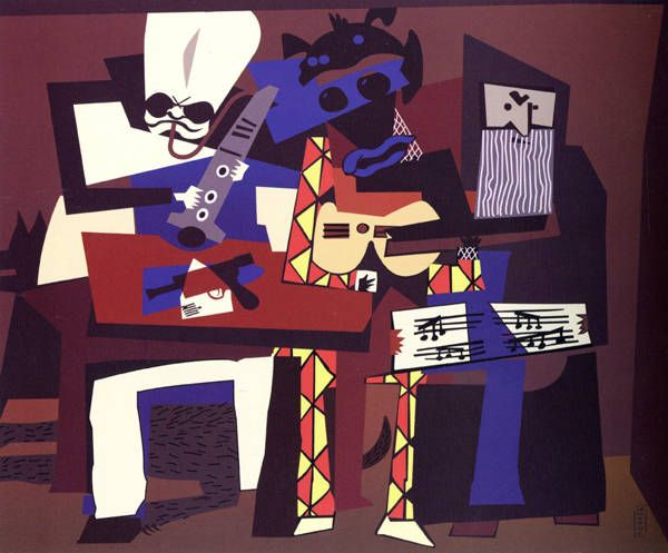 Cantina Band as painted by Picasso