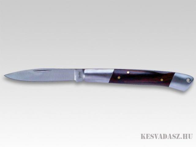 LINDER (325510) zsebkés, A penge 440 rozsdamentes acél. Markolata fából készült. A kés zárt hossza 10 cm., Kések, zsebkések, tőrök, vadászkések óriási választéka a legnagyobb márkàkból mint a Böker, Spyderco, Extrema Ratio, KAI, SOG stb..