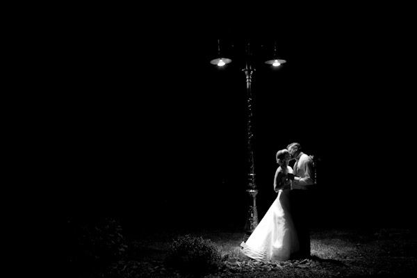 night wedding photo by top photographer Paul Morse
