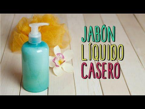 Jabón liquido Casero - Para Manos y Cuerpo - Receta Natural - Catwalk - YouTube