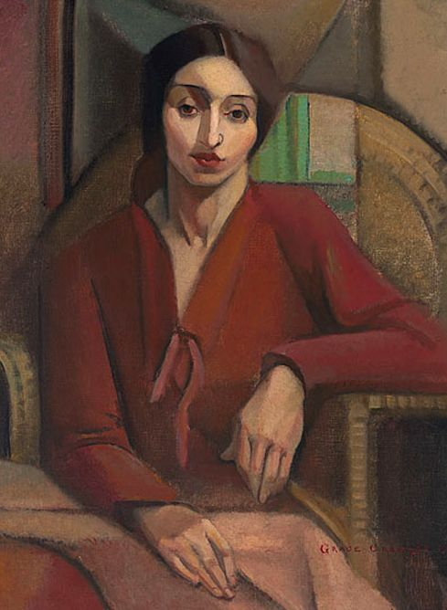 'Portrait study', 1928 - Grace Crowley (1890 - 1979)