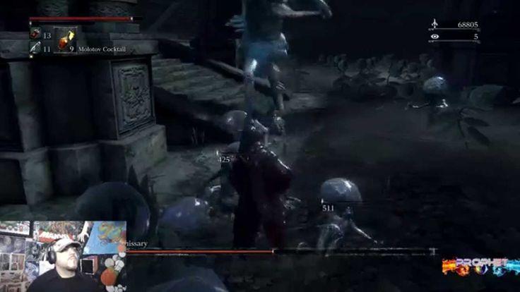 Bloodborne - Celestial Emissary (Optional) Boss #13 1080p 60fps