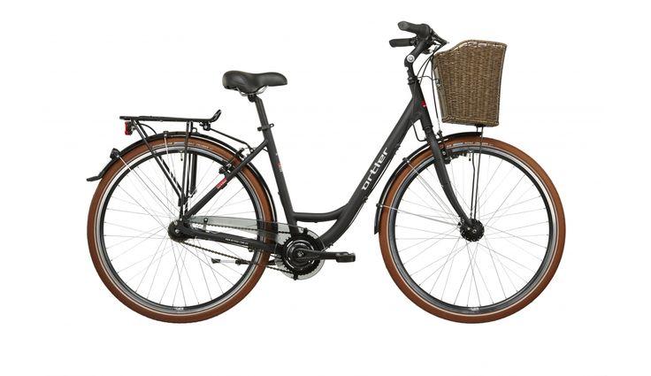 Ortler Monet - Bicicleta de paseo mujer - negro | Bikester.es