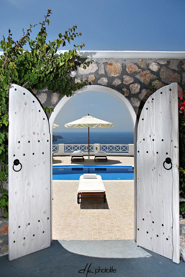 Pool with a view, Imerovigli Santorini