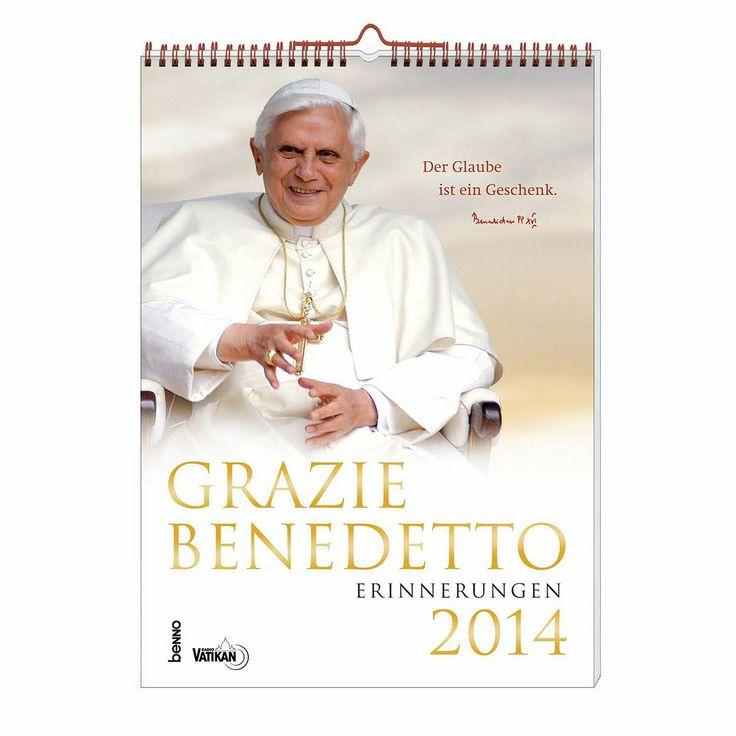 Wundervoller #Kalender mit Bildern und #Impulsen von #Papst #Benedikt XVI. für das kommende #Jahr ...