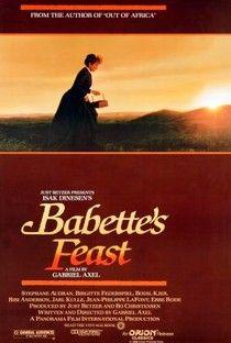 """A Festa de Babette (Babettes gæstebud) Encantador, poético, maravilhoso. Um banquete de almas.Estupendo! """"Um artista nunca é pobre."""" Sensacional!"""