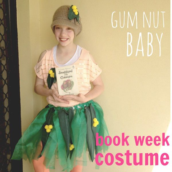 Snugglepot and Cuddlepie - Gumnut Babies Book week costume {The Organised Housewife}