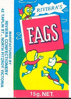 Aussie Candy cigarettes that were certainly around through the sixties...later to become FADS...