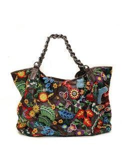 Τσάντα ώμου πολύχρωμη - Μαύρο 39,99 €