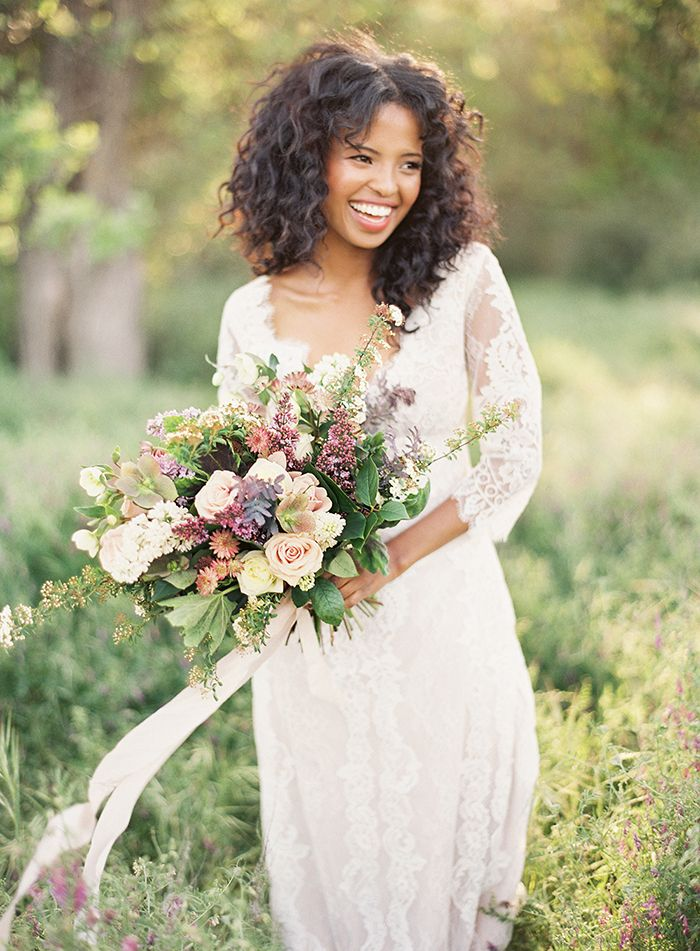 Claire Pettibone Romantique 'Patchouli' wedding dress from The Dress Theory | Photo: Christine Doneé featured on Once Wed