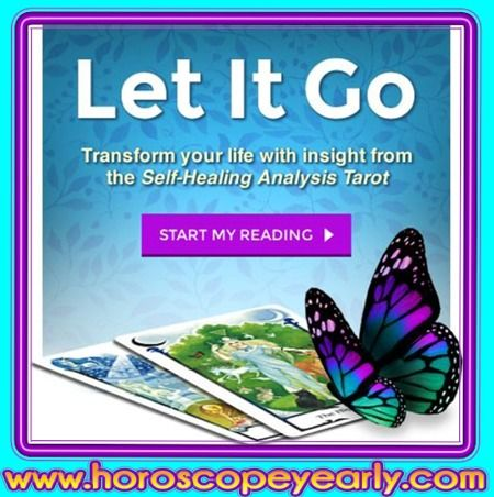 Let It Go Self Healing Tarot - Our experts can help you achieve a total harmony with your inner and outer world. Heal your chakras and allow your body to attain perfect vibration with its surroundings. Start Your Reading Here: http://www.horoscopeyearly.com/horoscope-in-hindi/