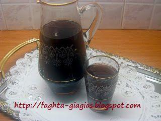 Τα φαγητά της γιαγιάς - Κόκκινο κρασί με εσπεριδοειδή και μπαχαρικά