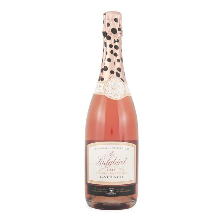 Adding a little sparkle to Mother's Day lunch - Laibach Ladybird Brut Rosé 750ml woolworths.co.za/mothersday