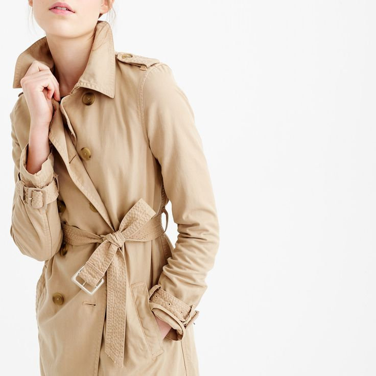 Sexy Trenchcoat Woman Image Photo