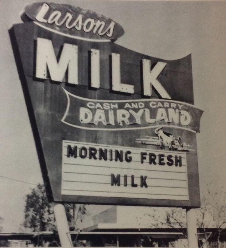 Larsons Dairyland on Larsons Road Bakersfield, California