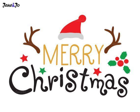 Merry Christmas Svg Merry Xmas Svg Christmas Quote Svg