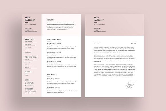 Epingle Sur Cv Template