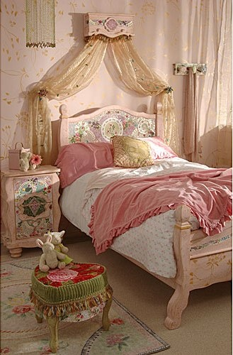 Best Shabbychic Little Princess Bedroom Images On Pinterest