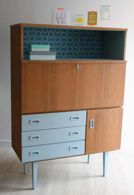 Best 25 buffet secretaire ideas on pinterest for Buffet mado renove
