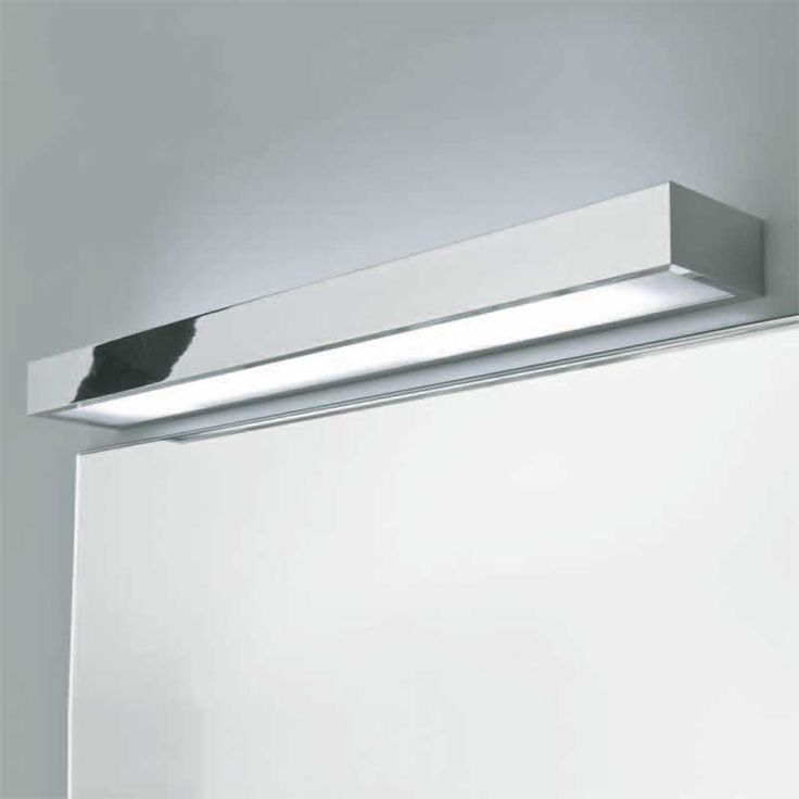 tallin 900 bathroom wall light up and down mirror light strip ip44 39w t5 high output - Designer Bathroom Lights