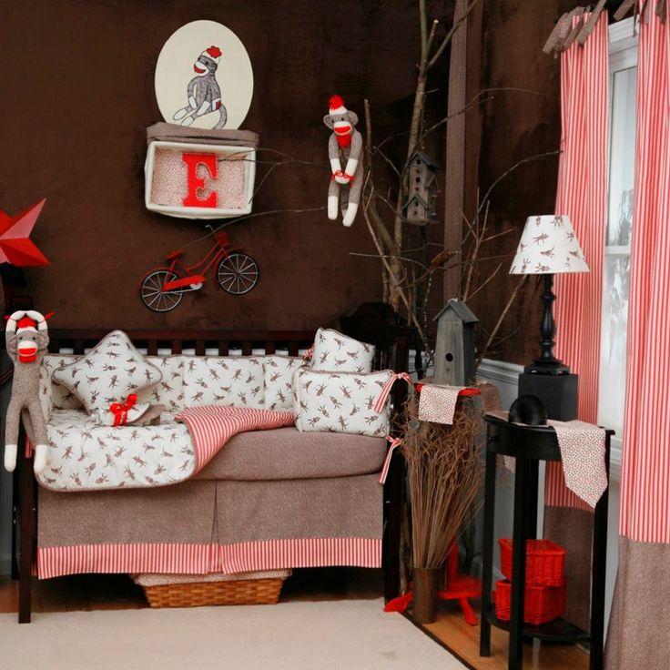 Sock Monkey Bedrooms - Design Dazzle