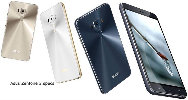 Asus Zenfone 3 specs in India