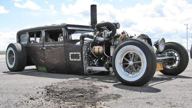 1000hp Diesel Engine Dodge Rat Rod