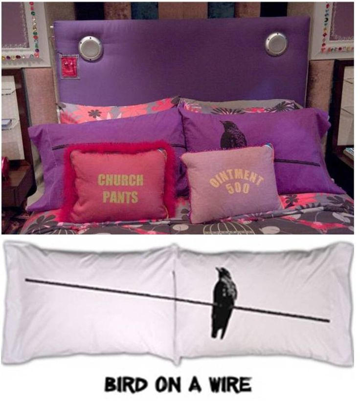 icarly new bedroom pillows
