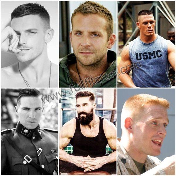 Military Haircuts for Men  #mensfashion #fashion2016 #mensstyle #mensfashion2016 #fashion #militaryhaircuts #haitstyles #militaryhairstyles