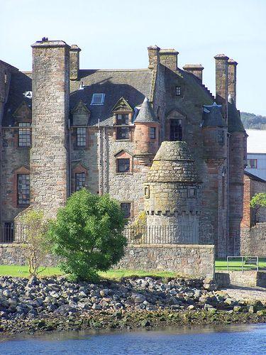 Newark Castle near Port Glasgow, Scotland.
